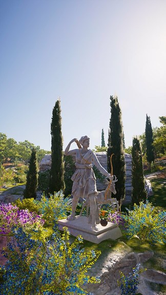 Statue Of Artemis 1 Screenshot From Assassin S Creed Ody