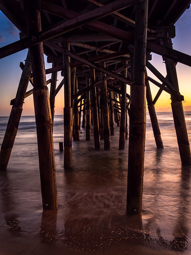 Under the pier | by Ed Rosack