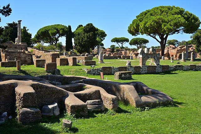 Rome / Ostia Antica / Forum