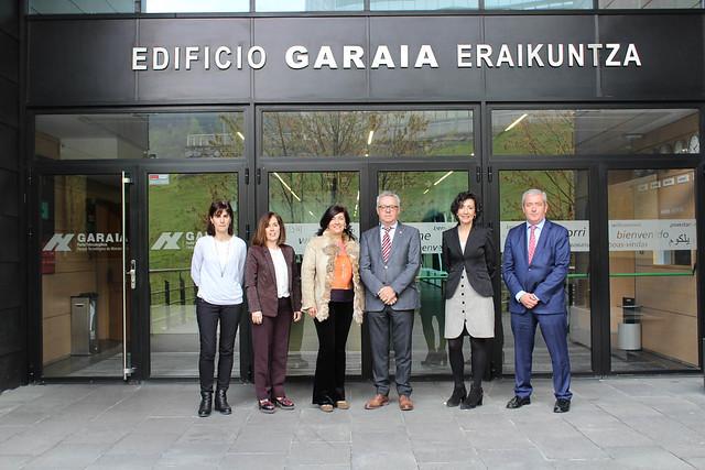 Primer acercamiento entre la Red de Parques de Euskadi y el Parque Tecnológico Garaia