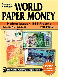 WORLD PAPER MONEY MODERN ISSUES 25TH ED book cover
