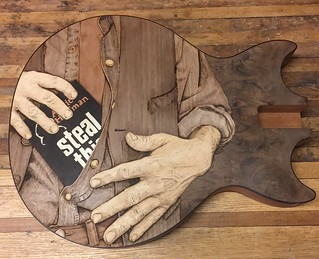 Woodburning complete Steal this Book cropped | by jmacs1959