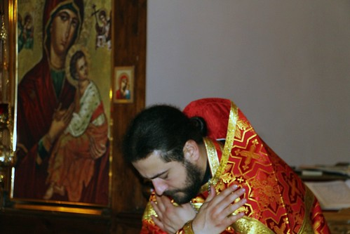 Пасхальное Богослужение в Свято-Никольском храме станицы Кавказской IMG_1409