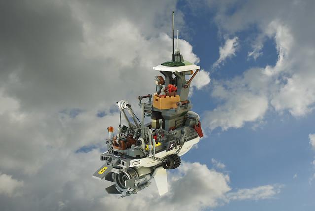 Lego Flying Tug Boat - atana studio