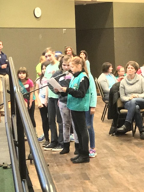 Girl Scouts earn product designer badges at UW-Green Bay 12/1/2018