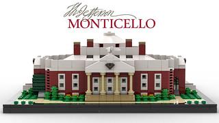 Thomas Jefferson's Monticello (Back)