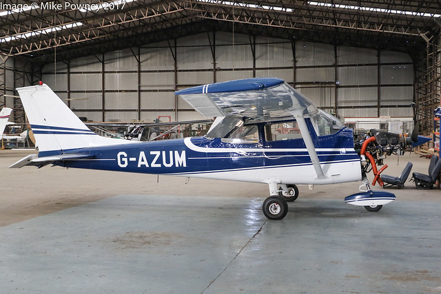 G-AZUM - 1972 Reims built Cessna F172L Skyhawk, Fowlmere based