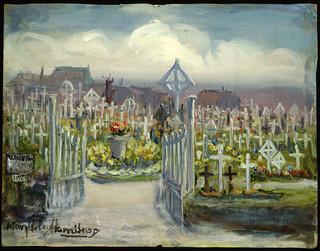 Menin Road, British Cemetery / Cimetière Britannique, chemin Menin