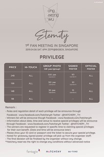 Ong Seong Wu Eternity in SG Privileges | by sgXCLUSIVE