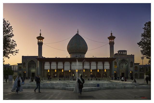 Mausoleo de Sayyed Mir Mohammad (Aramgah-e Shah-e Cheragh)