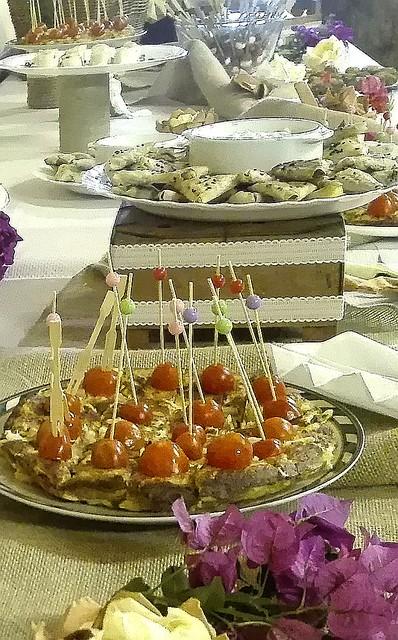 Dulce y salado para fiesta de picoteo