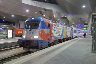 ČD 380 002 Wien Hbf | by daveymills37886