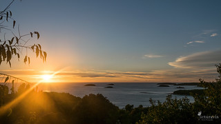 Sunset over the Adriatic Sea   by Picturavis