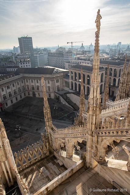 Milan from the Duomo