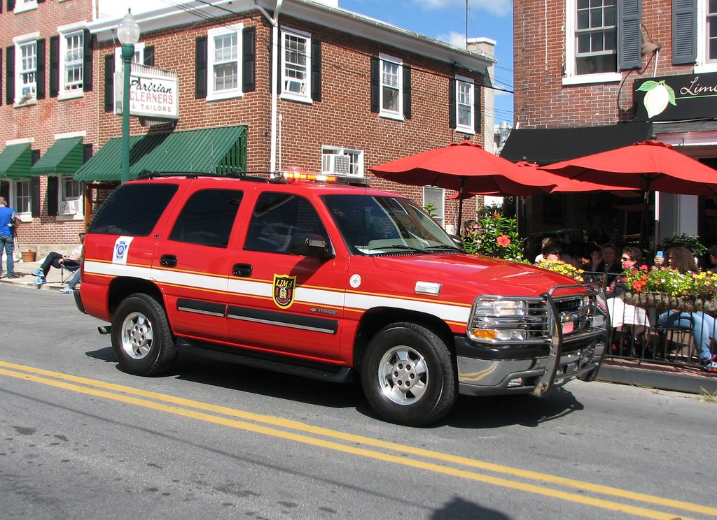 Lima Pennsylvania Fire Co 2002 Chevrolet Tahoe 4x4 Flickr