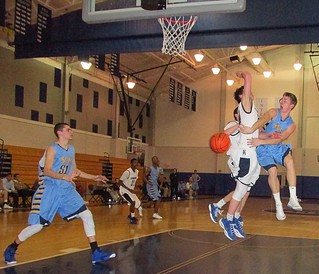 In this 2014 game, SCH Axademy's Dylan Parsons drops off a pass to Owen McAdoo vs Episcopal. | by tedtee308
