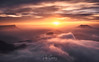 Dreamlike sunrise