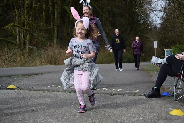 Renton parkrun bunny run