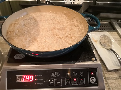 Oatmeal in a wok   by A. Wee