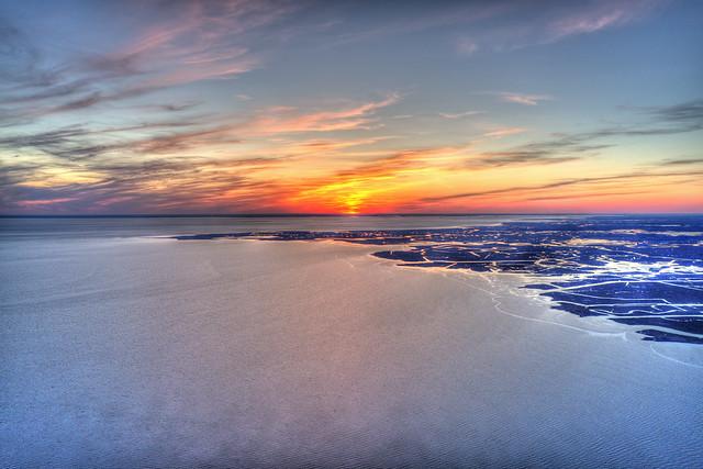 Sunset on Delaware Bay