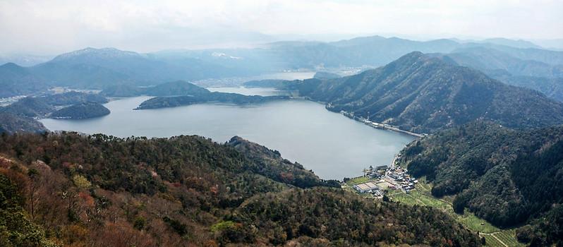 梅丈岳俯瞰五湖 1