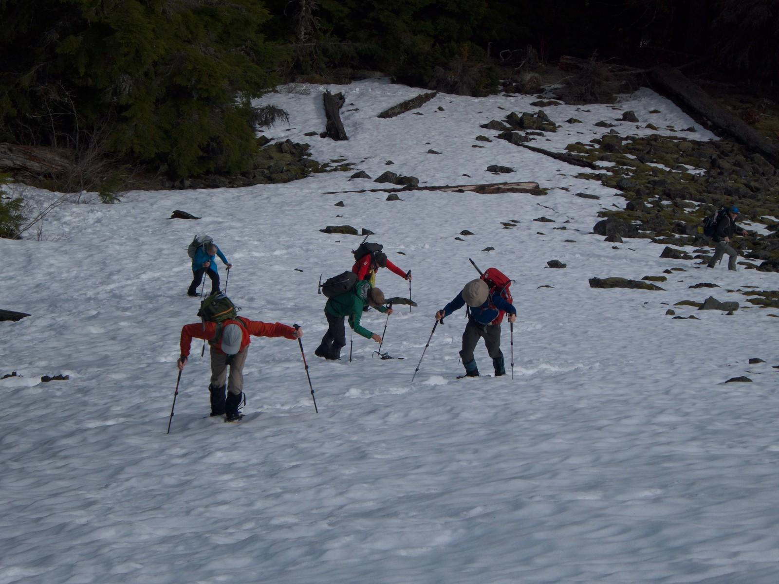 03.29.19 Mt Gardner Snowshoe