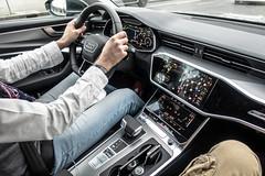 Audi A6 Interior - AKA Giorgina interior