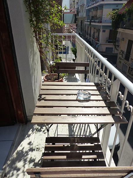 terrasse appart exarchia