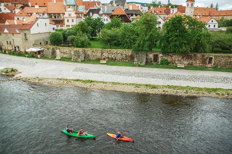 Hotel Mlyn俯瞰Vltava River 5