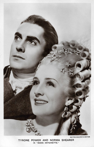Tyrone Power and Norma Shearer in Marie Antoinette (1938) | by Truus, Bob & Jan too!