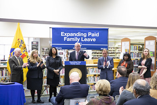 Governor Phil Murphy signs sweeping legislation to expand paid family leave on February 19, 2019, in Piscataway. Edwin J. Torres/Governor's Office. | by GovPhilMurphy