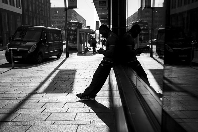 Silhouette, Shadow, Reflection