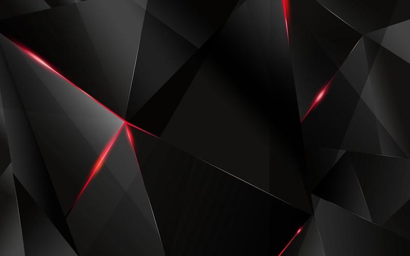 Обои черный, свет, темный, фигурки картинки на рабочий стол, фото скачать бесплатно