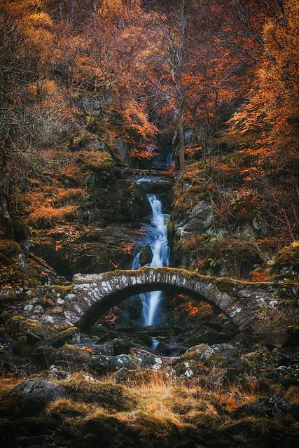 Packhorse Bridge in Glenlyon
