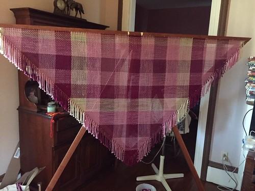 Laura's 7-Foot Triangle Loom