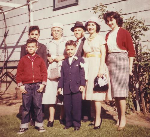 Dennis's First Communion, 1960, the Bronx (explore)