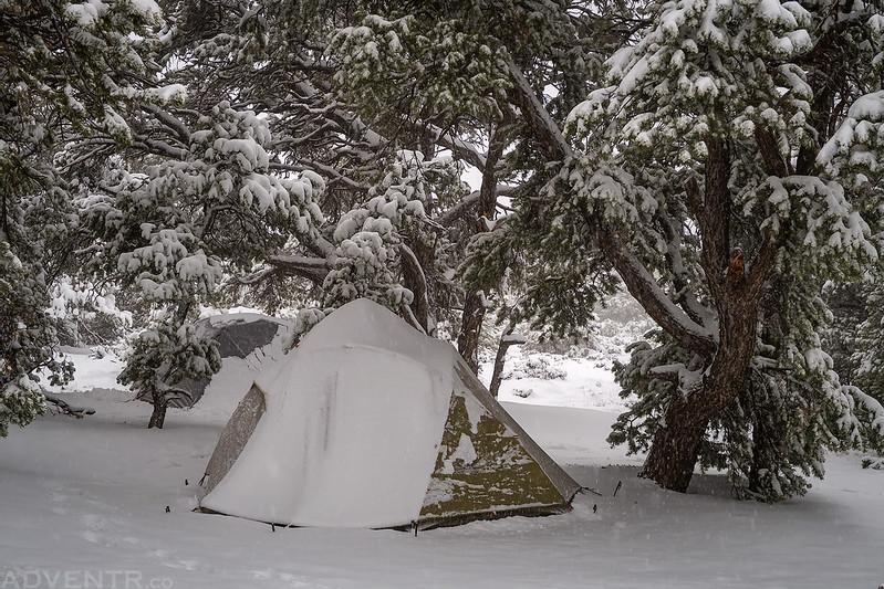 April Camping in Utah