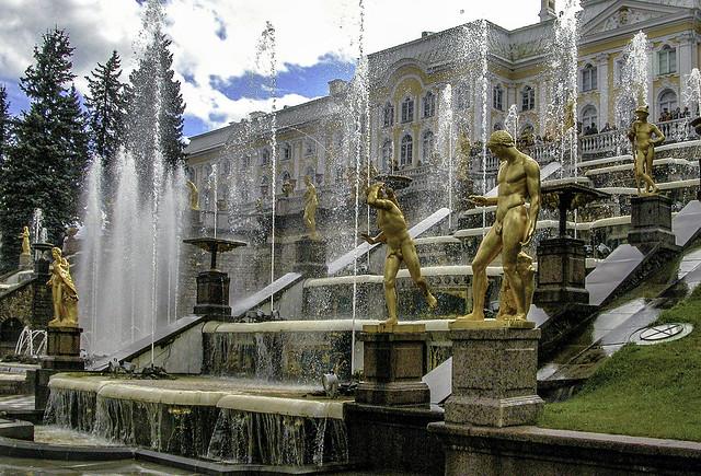 The Grand cascade, Peterhof
