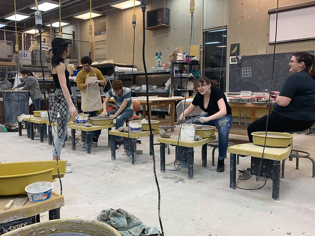 3/25/2019 Throwing for Empty Bowls