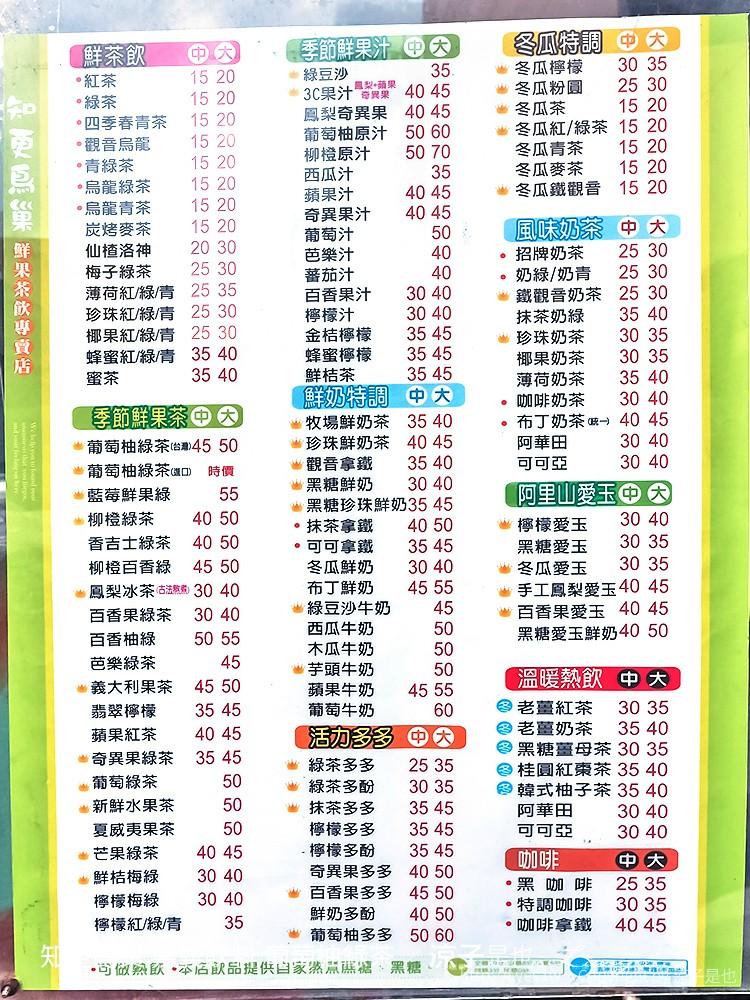 知更鳥巢 嘉義飲料 葡萄柚綠茶 3