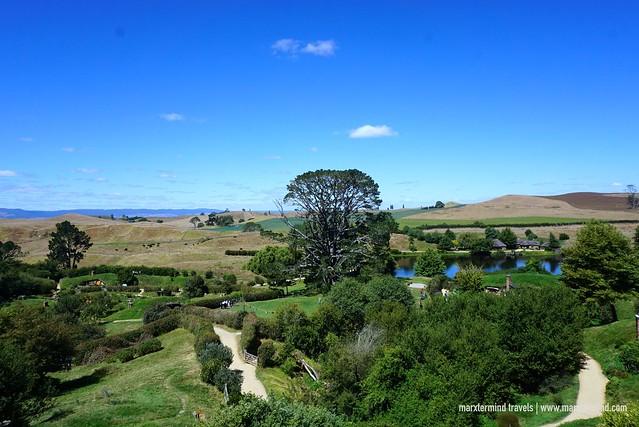 The Farmland at Hobbiton Movie Set
