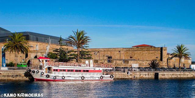 fuerte, cuartel naval El Ferrol
