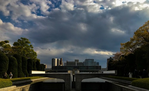 A different shape if cloud over Hiroshima | by pgbabini1