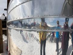 Ski reflection
