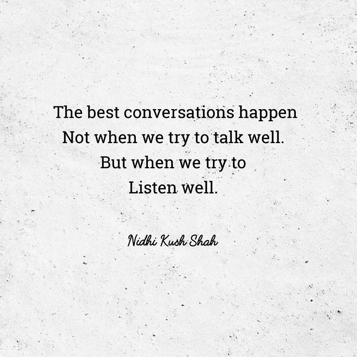 Wisdom Quotes Talk Less Listen More Goals Success L Flickr