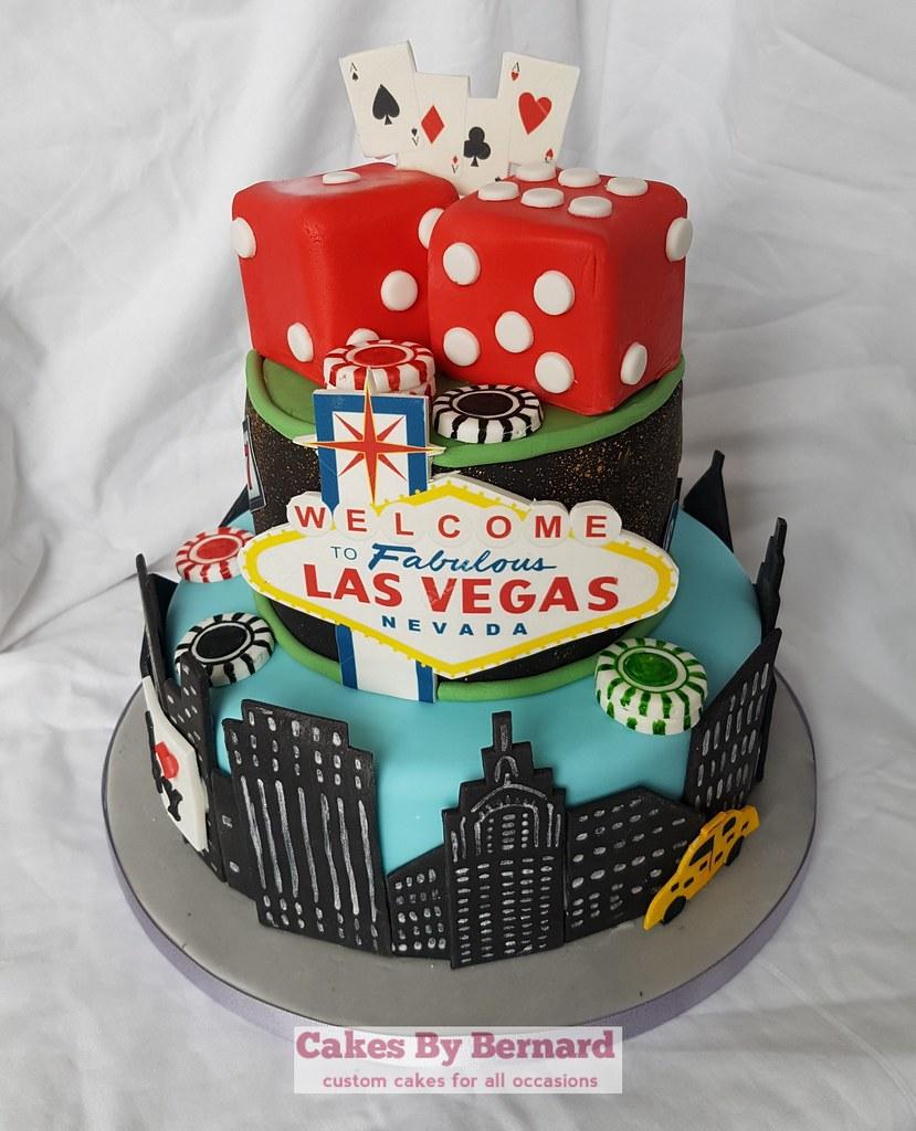 Las Vegas New York Cake