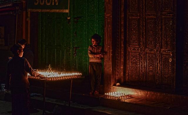 Tamu Losar Candles Nepal DSC_7759