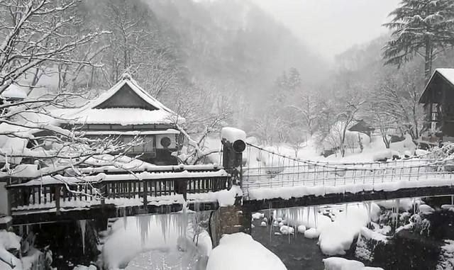 Japan's snow landscape