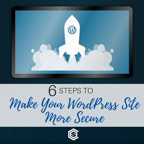 6 Steps To Make Your WordPress Site More Secure | by caspianservices