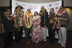 This yearʻs honorees.